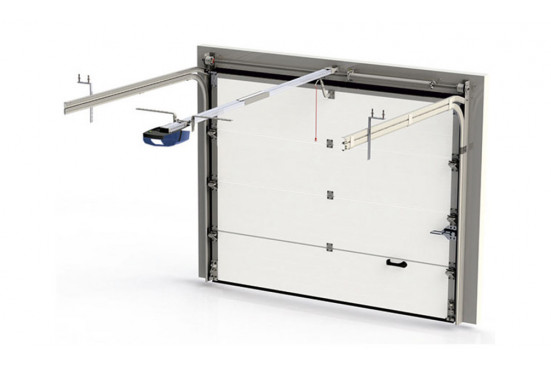 Garage NANTES porte sectionnelle 44mm - 18,6m² intérieur