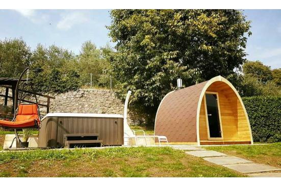 Sauna abri bois Pod 300 d'extérieur - 2 à 4 personnes
