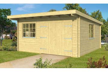 Garage Atelier Leucate B 44mm - 22.96 m² intérieur