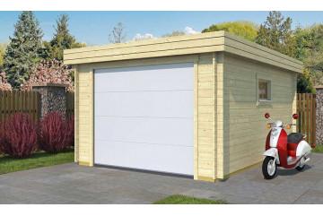 Garage Nanterre porte sectionnelle 34mm - 15,3m² intérieur