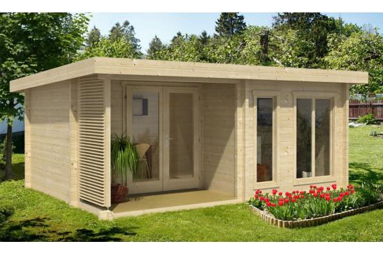 Abri de jardin ORKNEY 1 70mm - 15,9m² intérieur