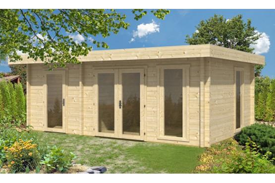 Abri de jardin VIENNE 70mm CC - 19,1m² intérieur