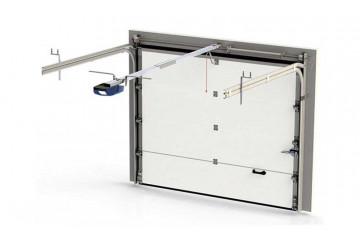 Porte sectionnelle isolée et motorisée dim 240 x 200cm