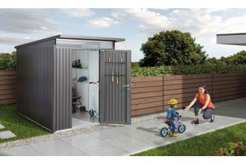 Abri de jardin Avant Garde Biohort, Porte Simple