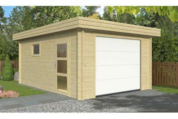 Garage hAMBOURG porte sectionnelle 44mm - 18.30m² intérieur
