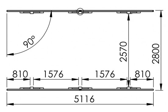 Carport 1 voiture 15,70m² autoclave Enzo