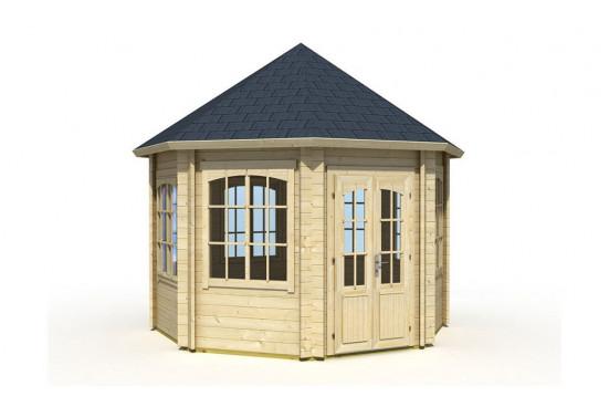 Abri de jardin JAMAÏCA 44 mm - 9,5m² intérieur