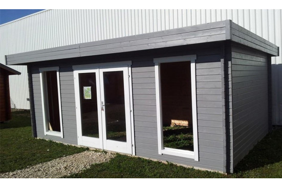 pool house toit plat CANNES 44mm - 16,8m² intérieur