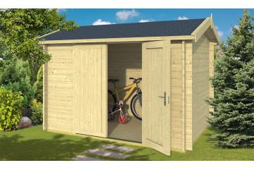 Abri à vélos Gaillac 34 mm - 5.66m² intérieur
