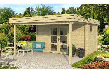 Abri de jardin LAVANDOU 44mm - 9,44m² intérieur
